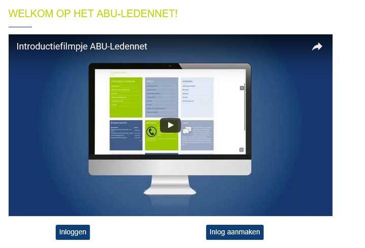 ABU - interim communicatieadviseur - Filmpje ledennet