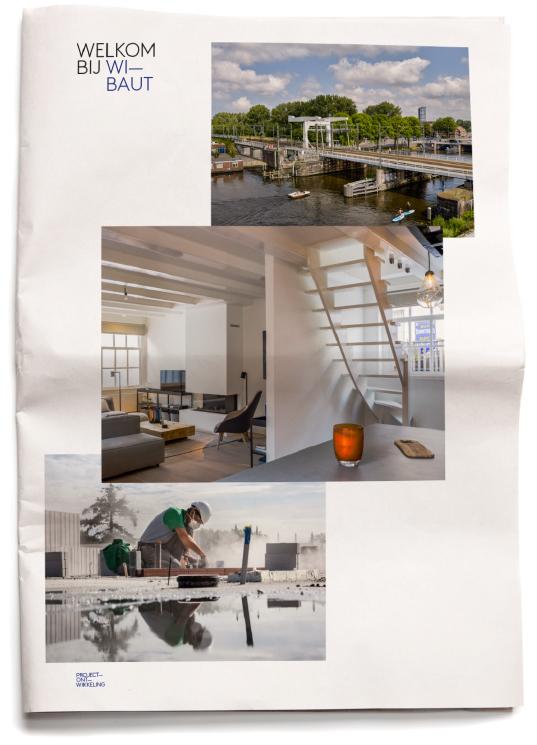 Wibaut - coordinatie communicatie - krant