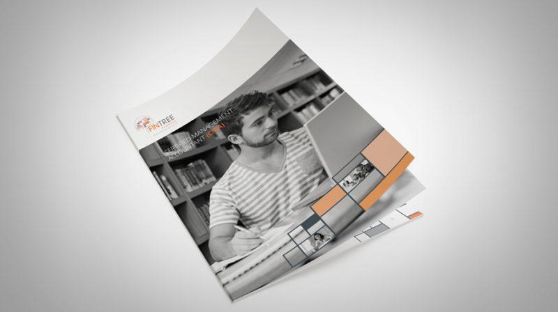 Ontwikkelen communicatiemiddelen - Brochure FinTree Academy 2