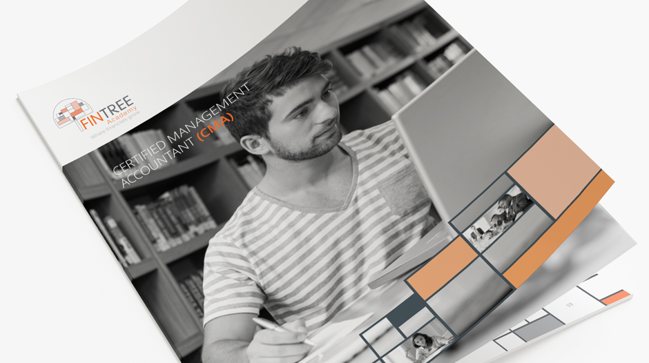 Ontwikkelen communicatiemiddelen - Brochure FinTree Academy