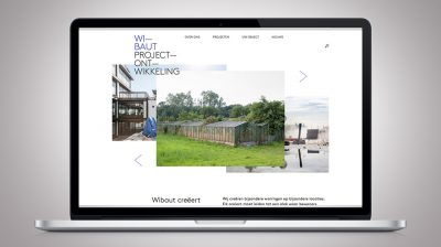 Wibaut - Coordinatie communicatie - Website