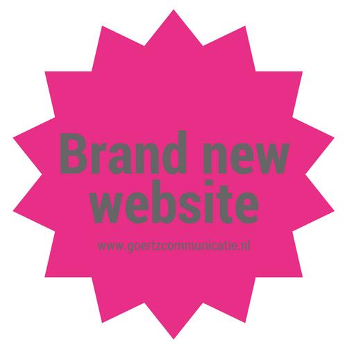 Nieuwe website Goertz communicatie