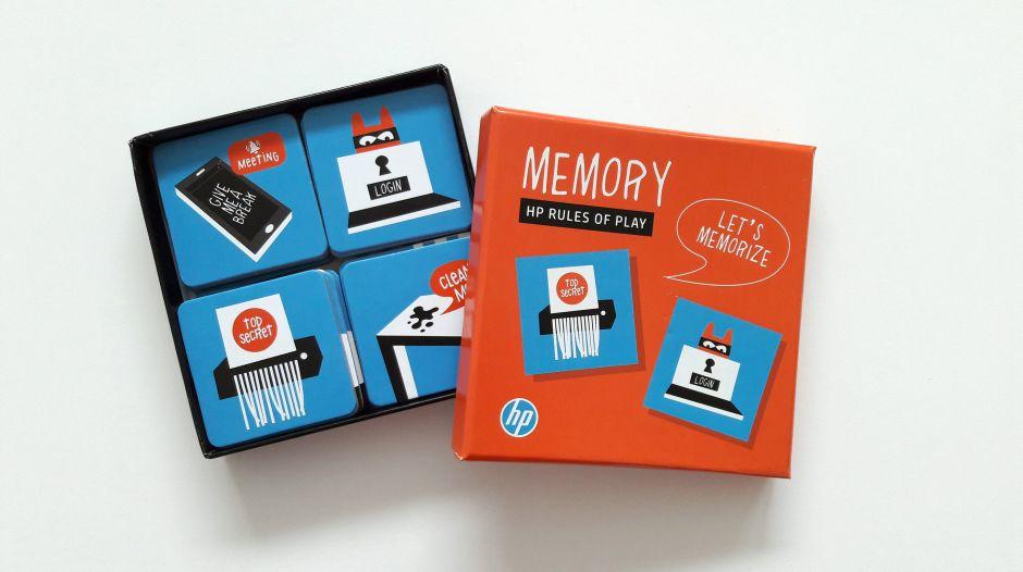 Spel memory HP